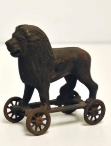 lion on wheels